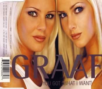 GRAAF - You Got (What I Want) - CD Maxi