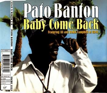 BANTON, PATO - Baby Come Back - CD Maxi
