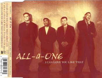 ALL-4-ONE - I Can Love You Like That - CD Maxi