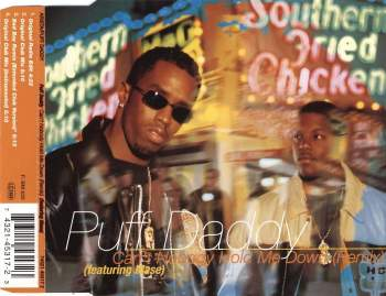PUFF DADDY - Can't Nobody Hold Me Down - MCD