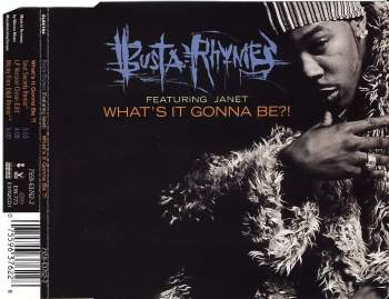 BUSTA RHYMES FEAT. JANET - What's It Gonna Be - CD Maxi