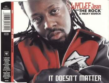 JEAN, WYCLEF - It Doesn't Matter - CD Maxi