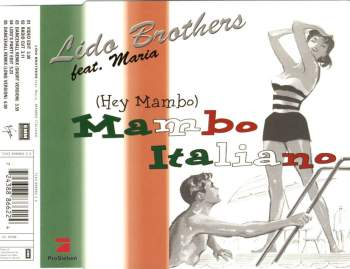 LIDO BROTHERS FEAT. MARIA - Mambo Italiano - CD Maxi