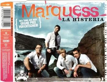 MARQUESS - La Histeria - CD Maxi