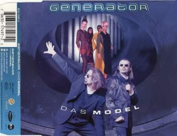 GENERATOR - Das Model - CD Maxi