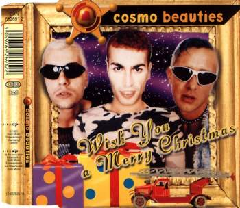 COSMO BEAUTIES - Wish You A Merry Christmas - CD Maxi