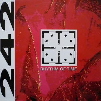FRONT 242 - Rhythm Of Time - Maxi x 1
