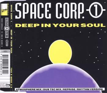 SPACE CORP. 1 - Deep In Your Soul - CD Maxi