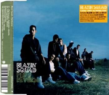 BLAZIN' SQUAD - Flip Reverse - CD Maxi