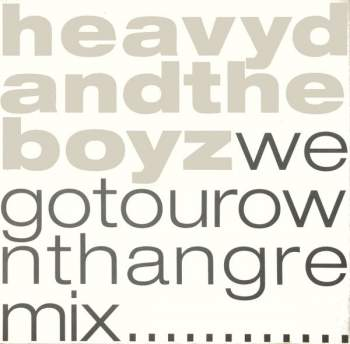 HEAVY D. & THE BOYZ - We Got Our Own Thang - 12 inch x 1