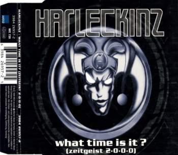 HARLECKINZ - What Time It Is (Zeitgeist 2000) - CD Maxi