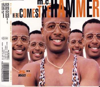 MC HAMMER - Here Comes The Hammer - CD Maxi