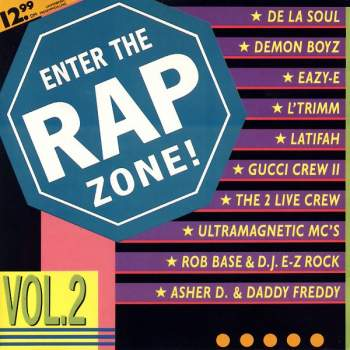 Various - Enter The Rap Zone Vol. 2
