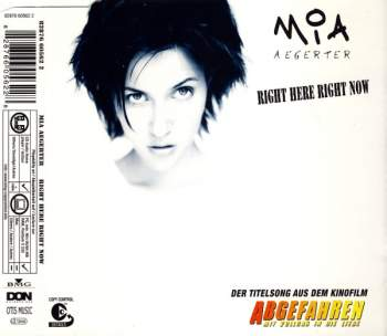 Aegerter, Mia - Right Here Right Now