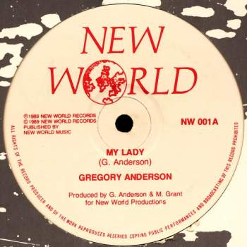 Anderson, Gregory - My Lady / Red Alert
