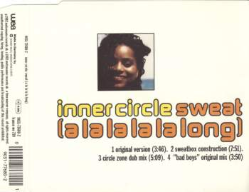 INNER CIRCLE - Sweat (A La La La La Long) - CD Maxi