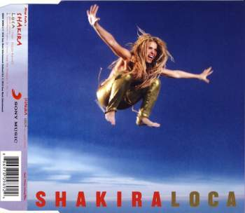 SHAKIRA - Loca (feat. Dizzee Rascal) - CD Maxi