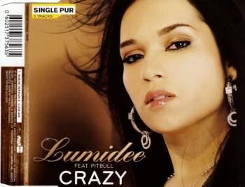LUMIDEE FEAT. PITBULL - Crazy - CD Maxi