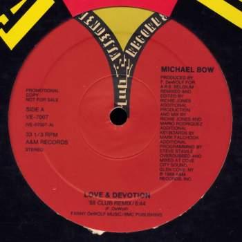 BOW, MICHAEL - Love & Devotion The '88 Remix - Maxi x 1