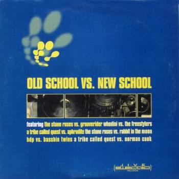 VARIOUS - Old School vs. New School - LP x 3