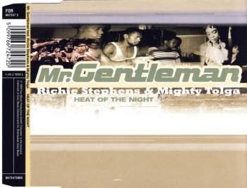 MR. GENTLEMAN - Heat Of The Night (feat. Richie Stephens & Mighty Tolga) - CD Maxi