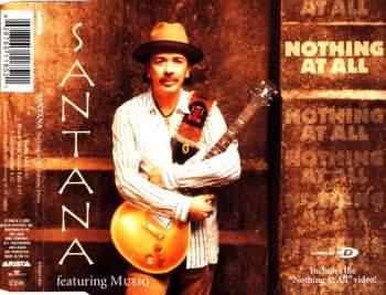 SANTANA - Nothing At All (feat. Musiq) - CD Maxi