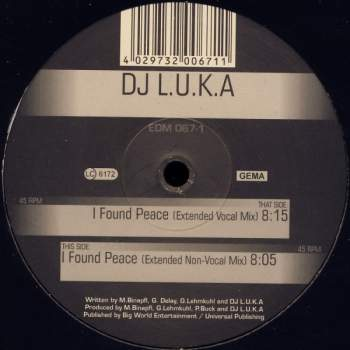 DJ LUKA - I Found Peace
