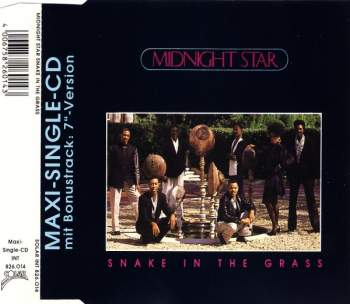 MIDNIGHT STAR - Snake In The Grass - CD Maxi