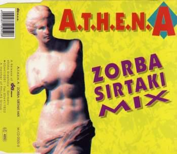 ATHENA - Zorba - CD Maxi