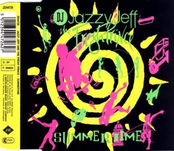 DJ JAZZY JEFF & FRESH PRINCE - Summertime - CD Maxi